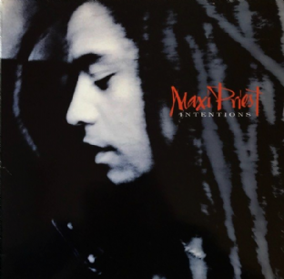 Maxi Priest ‎- Intentions (LP) (VG/G+)